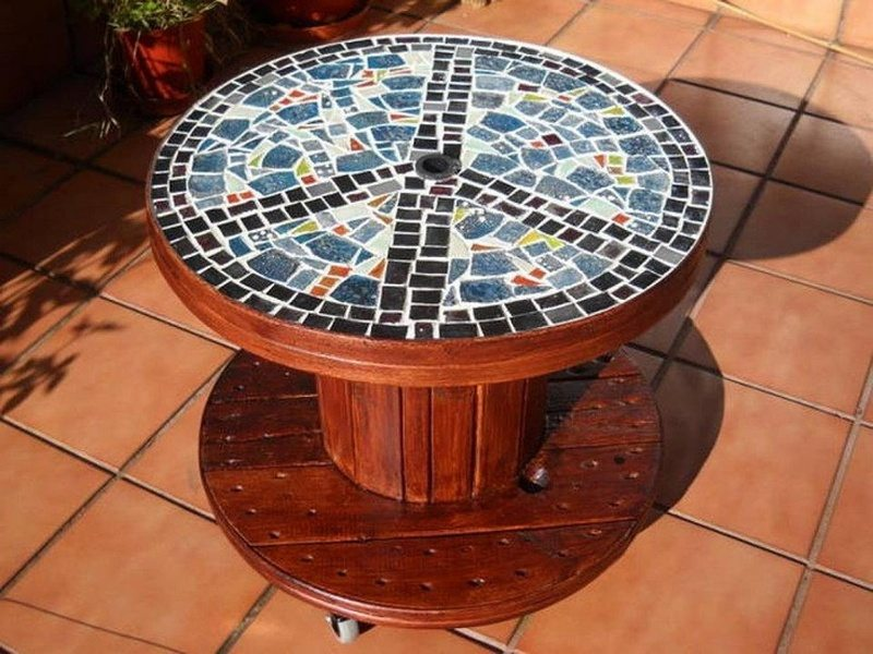 This Furniture Would Be Perfect As A Center Table For Your Outdoor Living  Area.