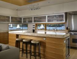 Lake Union Floating Home - Kitchen