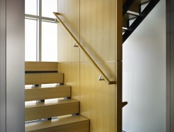 Lake Union Floating Home - Stairs to the bedroom area