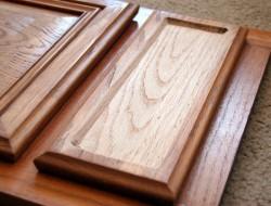 DIY Cupboard Door Art Desk