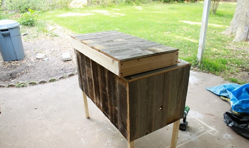 Diy Rustic Cooler The Owner Builder Network