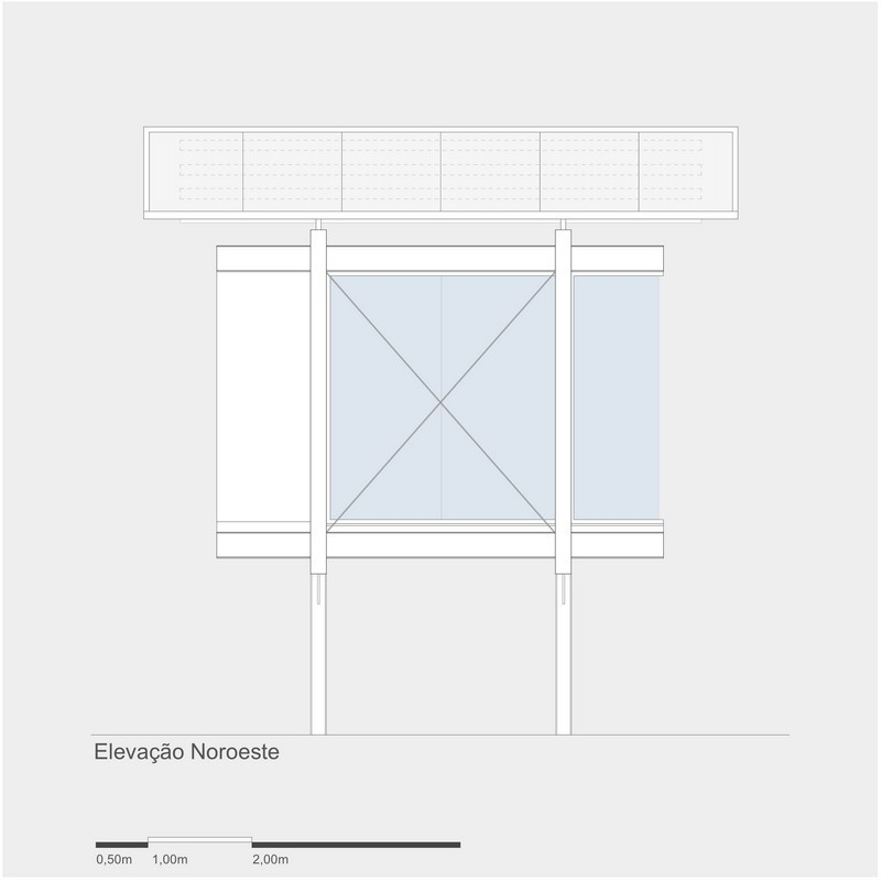4x4 Studio - Northwest Elevation