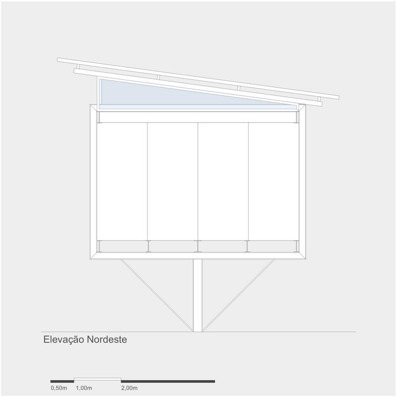 4x4 Studio - Northeast Elevation