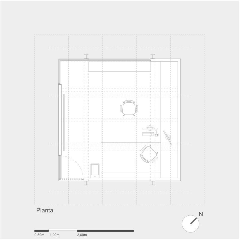4x4 Studio - Floor Plan