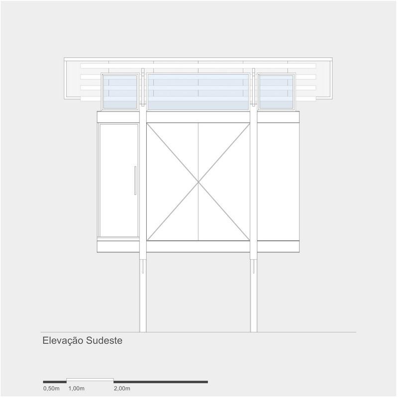 4x4 Studio - Southeast Elevation