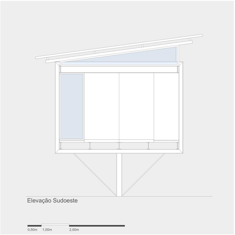 4x4 Studio - Southwest Elevation