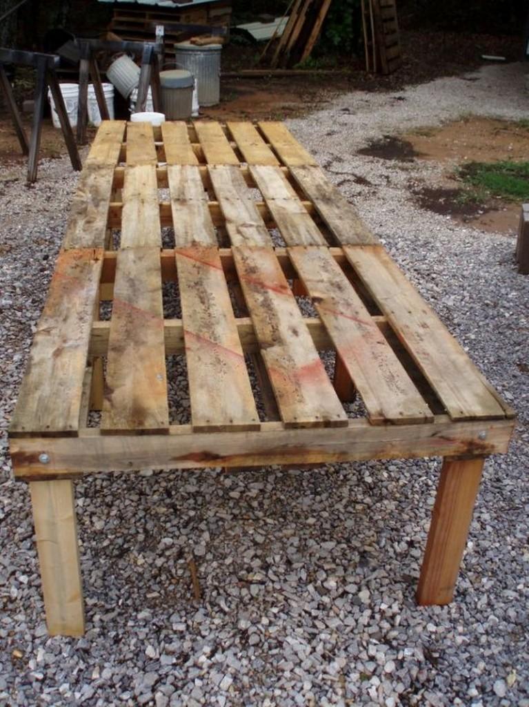 DIY Pallet Chicken Coop - Chicken House Floor