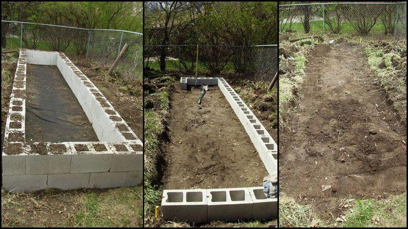 diy cinder block raised garden bed facebook google pinterest newsletter cinderblockraisedgardenbedobn - Cinder Block Raised Garden Bed