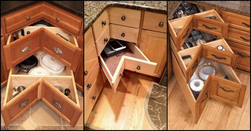 Kitchen Drawer Corners