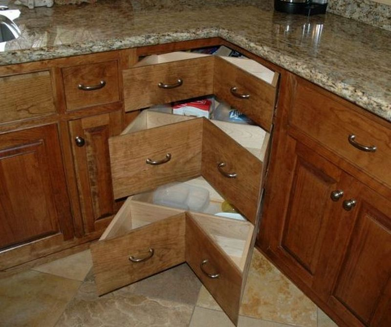 how to make drawers for kitchen cabinets diy corner cabinet drawers the owner builder network 17108