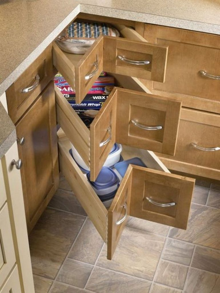 diy kitchen cabinet drawers diy corner cabinet drawers the owner builder network 14910