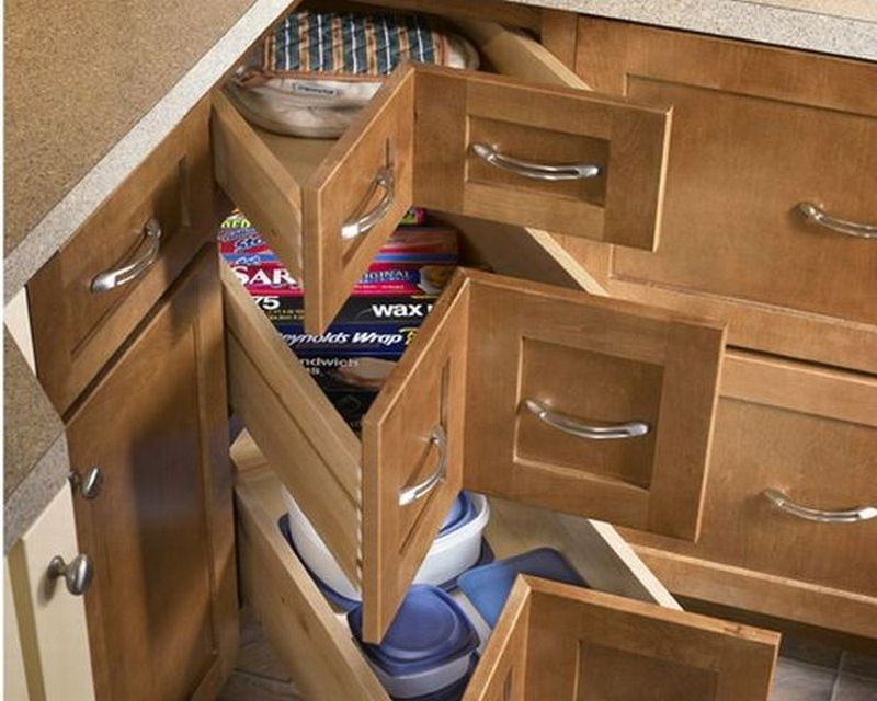 & DIY Corner Cabinet Drawers | The Owner-Builder Network