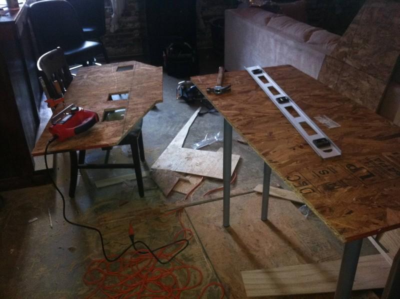 DIY AT AT Cat House - Cutting