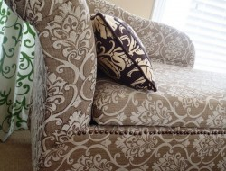 DIY Chaise Lounge with Storage - Adding optional decorative