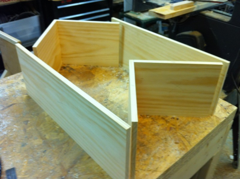 DIY Corner Cabinet Drawers   Steps In Building The Drawer