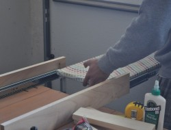 DIY Craft Table - Ironing board