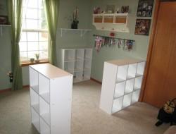 DIY Custom Craft Desk - Place your cublices