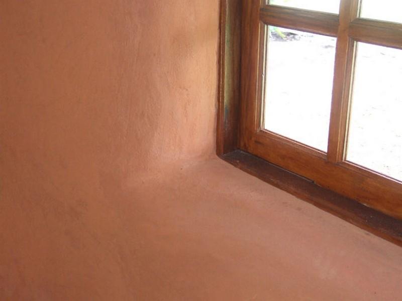 DIY Earthbag Round House - Inside view