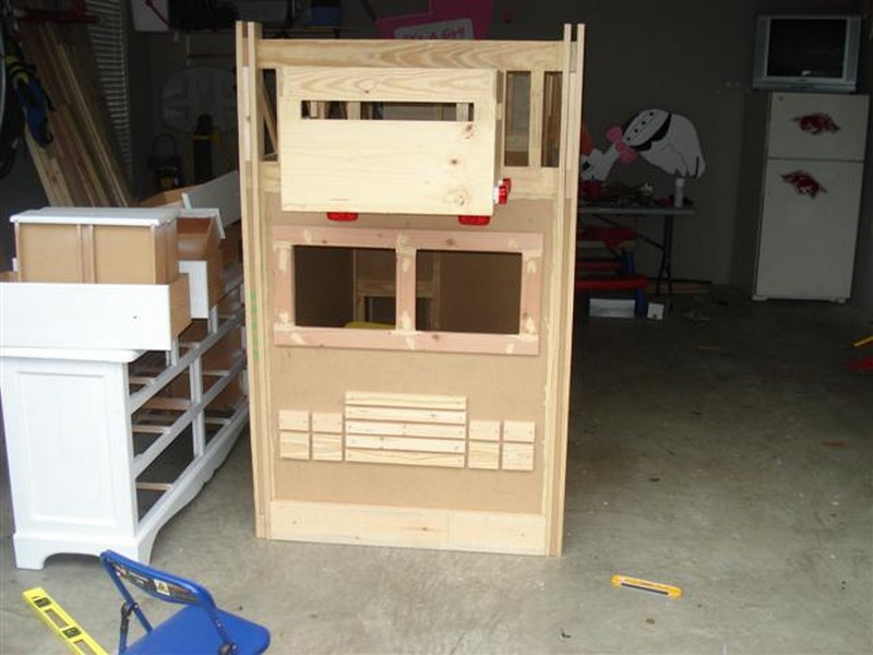 Diy Fire Truck Bunk Bed The Bumper The Owner Builder Network