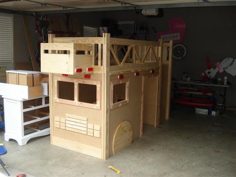 Diy Fire Truck Bunk Bed The Owner Builder Network