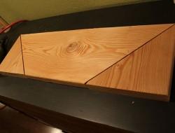 DIY Hanging Shelf - Cut the boards