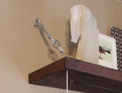 DIY Hanging Shelf - Hang the Shelves