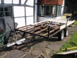 DIY House on Wheels - Framing