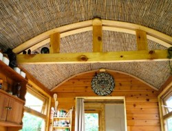 DIY House on Wheels - Curved Ceiling