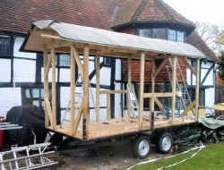 DIY House on Wheels - Building the Roof