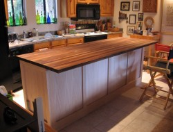 DIY Kitchen Island Cabinet - Adding more framing of the panels