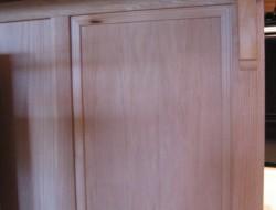 DIY Kitchen Island Cabinet - Add more trim