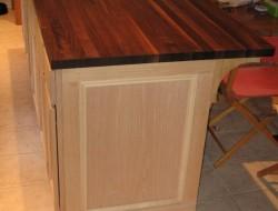 DIY Kitchen Island Cabinet - Finishing