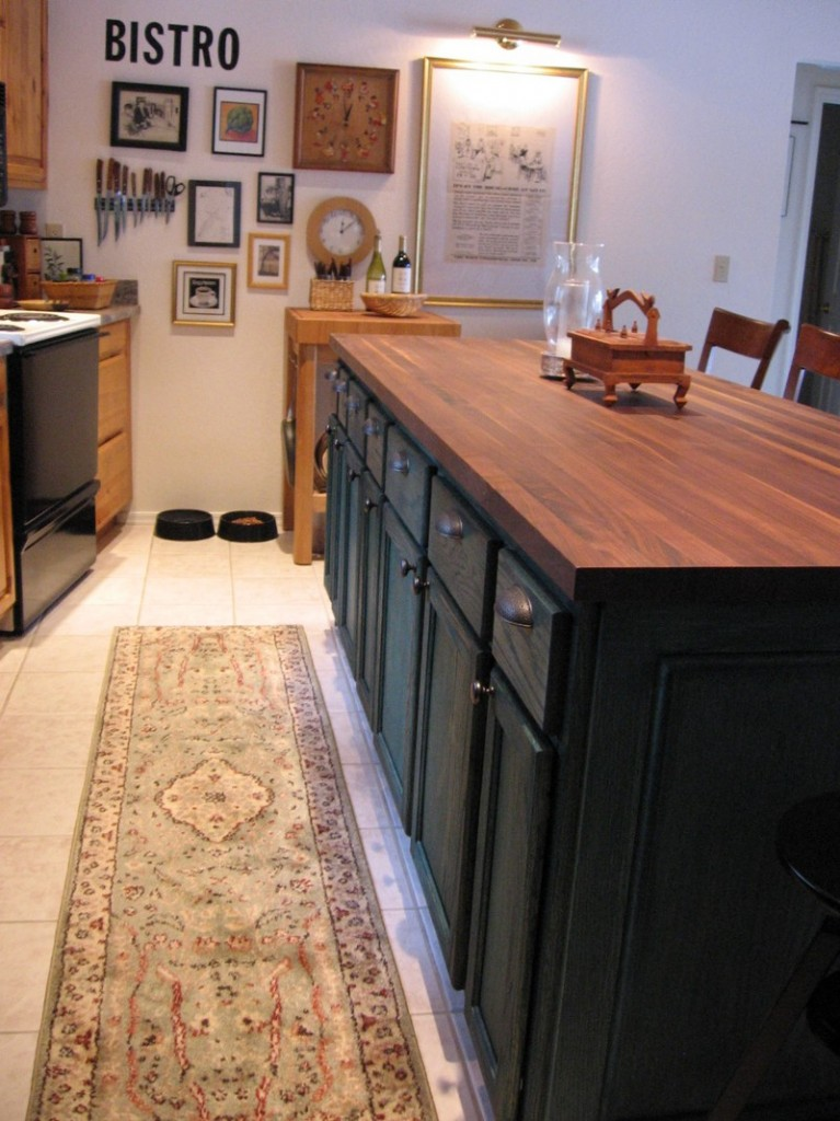 DIY Kitchen Island Cabinet - Complete project
