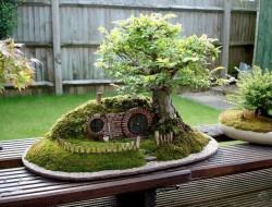 DIY Miniature Hobbit Hole- The Result