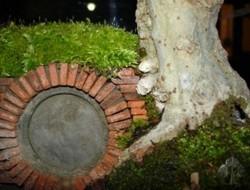 DIY Miniature Hobbit Hole- Additional Brickworks