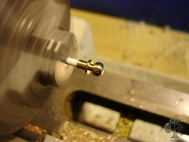 DIY Miniature Hobbit Hole- Doorknob Making