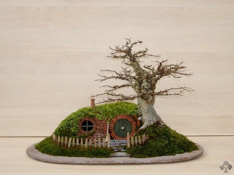 DIY Miniature Hobbit Hole- The Finished Product