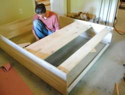 DIY Murphy Bed - Framed