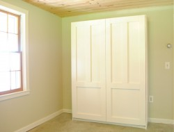 DIY Murphy Bed - Coat of paint