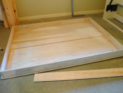 DIY Murphy Bed - Ready to attached