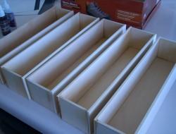DIY Pantry Door Spice Racks - Finished Spice Racks
