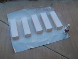 DIY Pantry Door Spice Racks - Ready for Painting