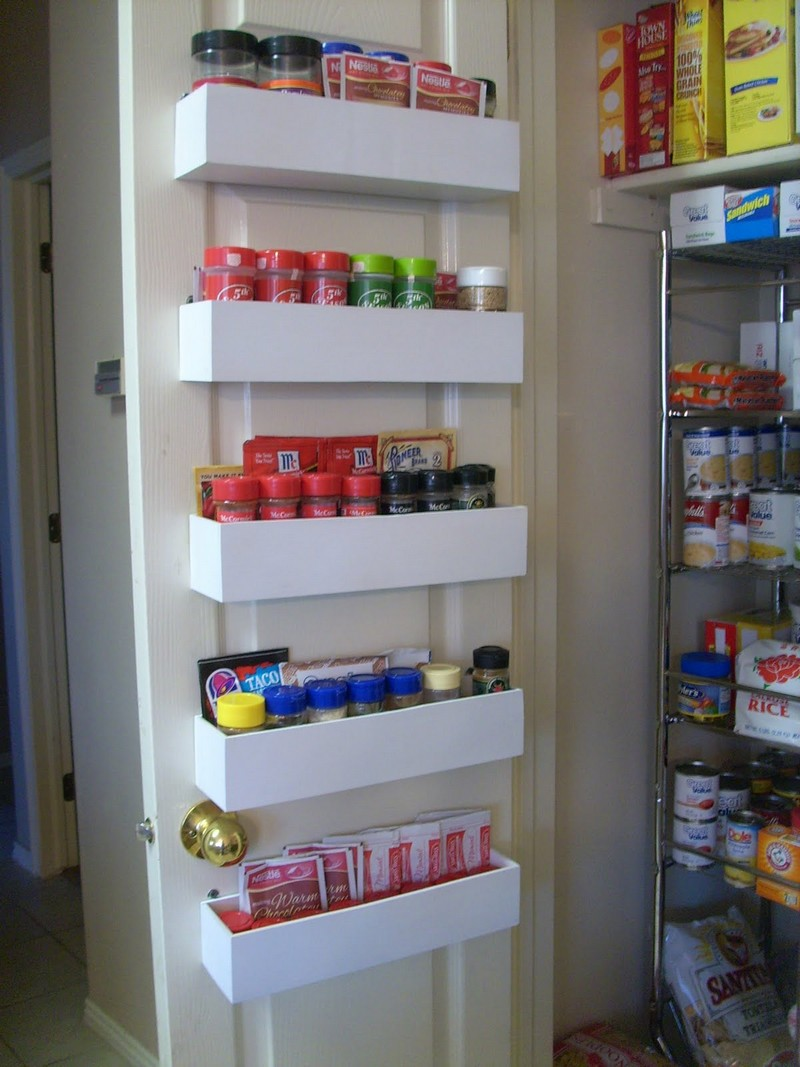 DIY Pantry Door Spice Racks The OwnerBuilder Network