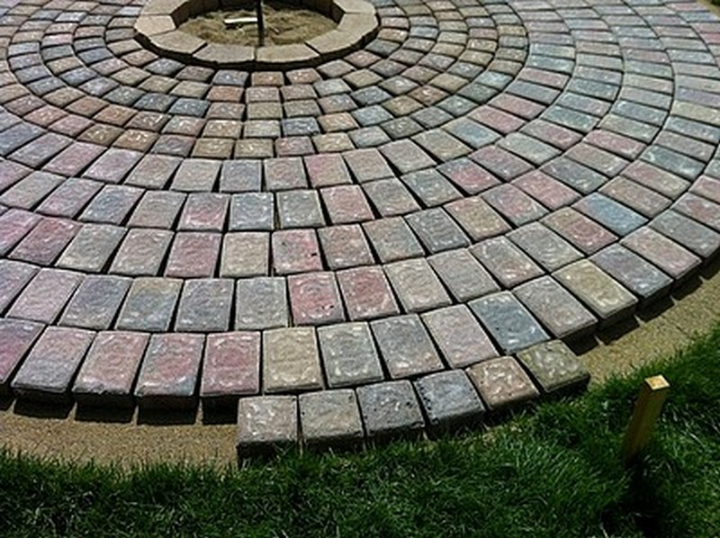 Diy Patio With Fire Pit The Owner Builder Network