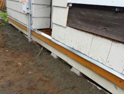 DIY Platform Deck - Install a drip edge