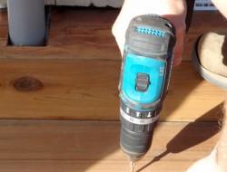 DIY Platform Deck - Attach the cedar decking