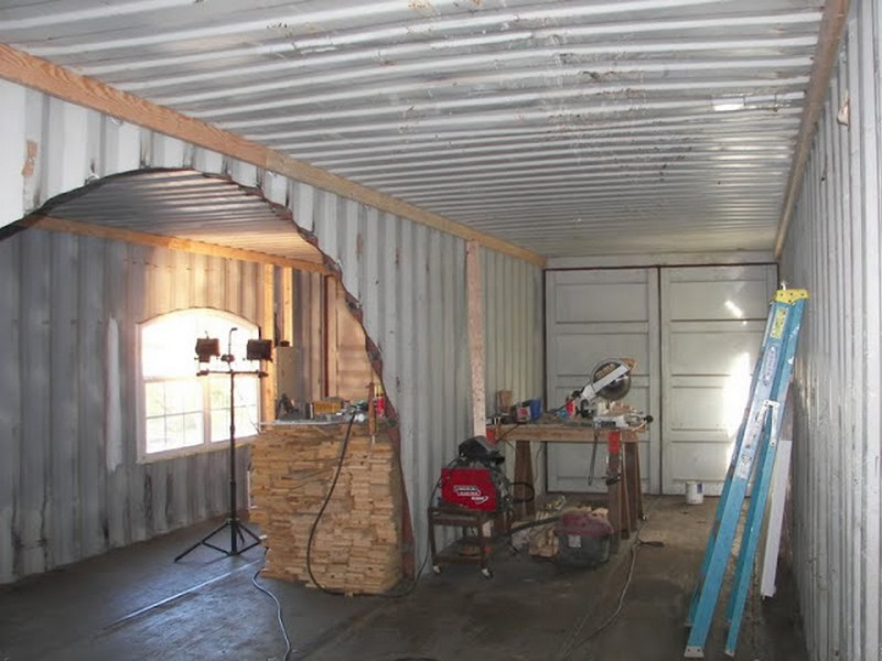 A home built from two shipping containers shipping container - How to build a home from a shipping container ...