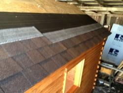 DIY Tiny Cabin - Cabin Roof