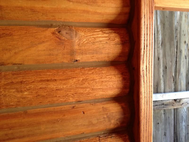 DIY Tiny Cabin - Chinking