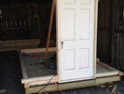 DIY Tiny Cabin - Cabin Door